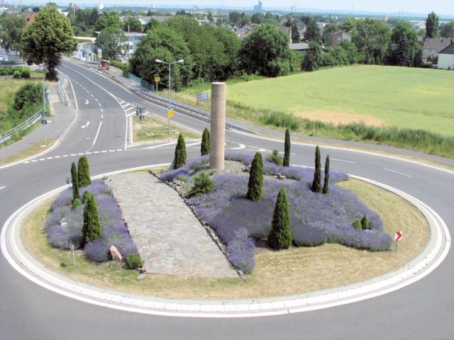 Kreisverkehrgestaltung Hürth