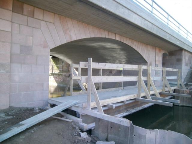 Sanierung historische Brücke Dieburg