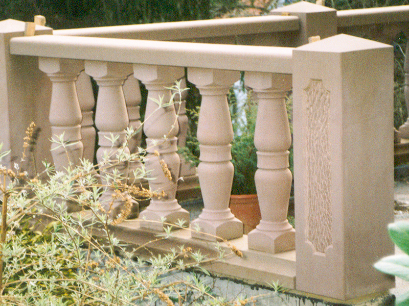 Terrassenbalustrade