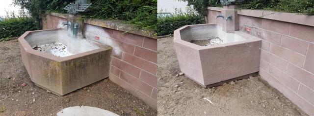 Reinigung Brunnen