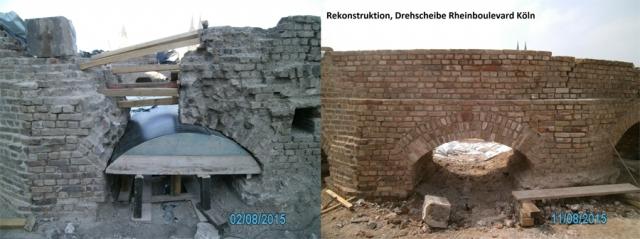 Rekonstruktion Drehscheibe Köln