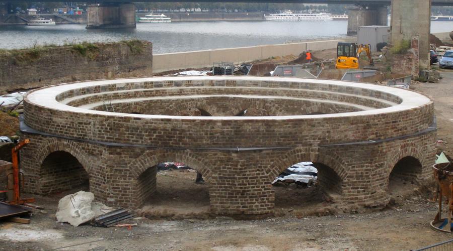 Sanierung Historische Drehscheibe Köln